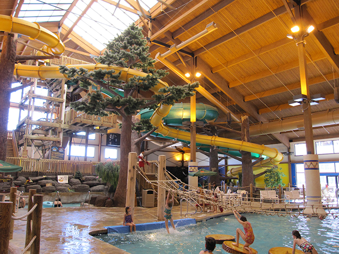 12 Year-Round Indoor Water Parks At Ski Resorts