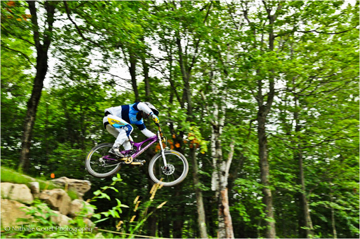 Downhill Mountain Biking Resorts in North America: Bromont